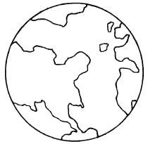 earth day coloring pages preschool and kindergarten - Earth Coloring Pages
