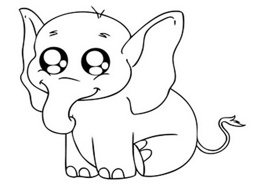 elephant coloring pages for kids preschool and kindergarten