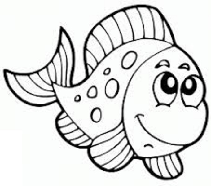 fish preschool coloring pages - photo#7