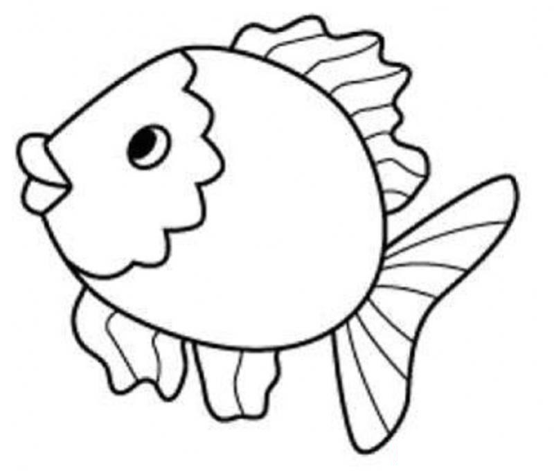 fish preschool coloring pages - photo#16