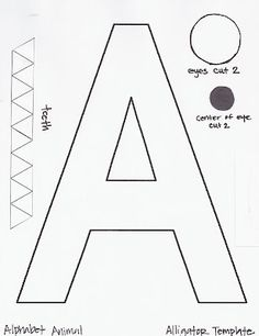 free-alphabet-letter -a-printable-templates-crafts-for-preschool