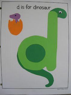 free-alphabet-letter -d-printable-crafts
