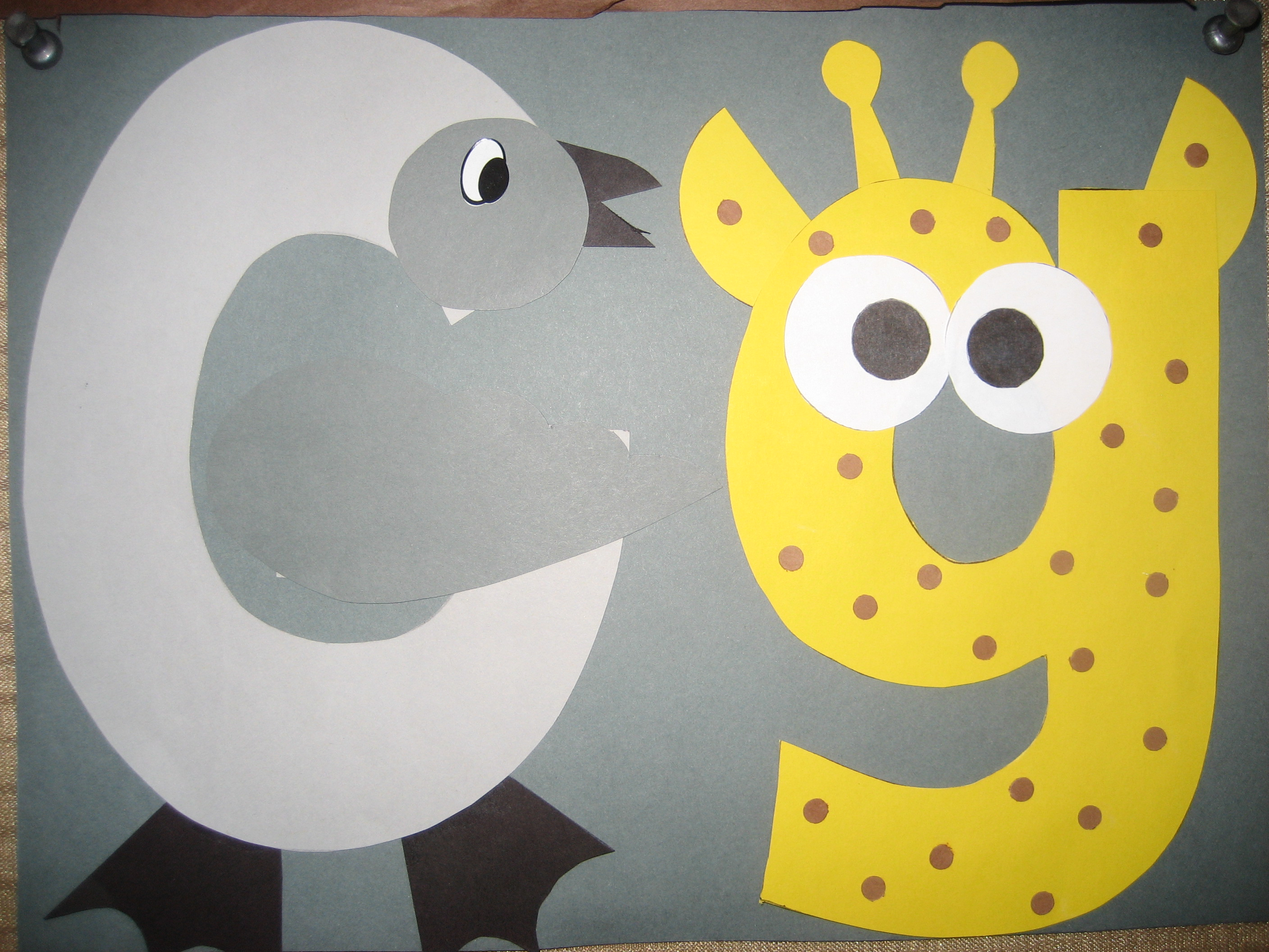 Letter g crafts preschool and kindergarten for The art and craft