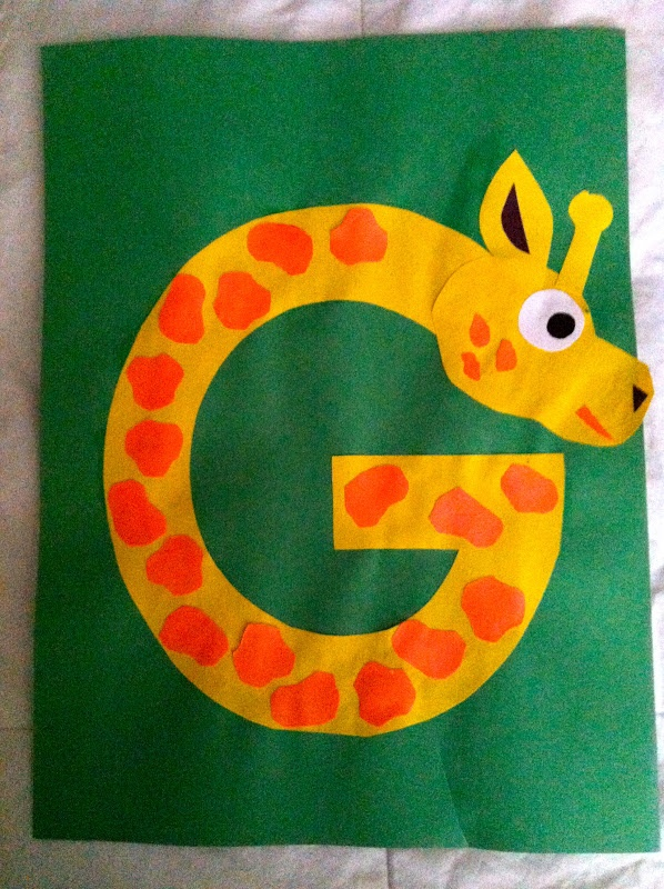 free-alphabet-letter -g-printable-crafts-for-kids - preschool crafts