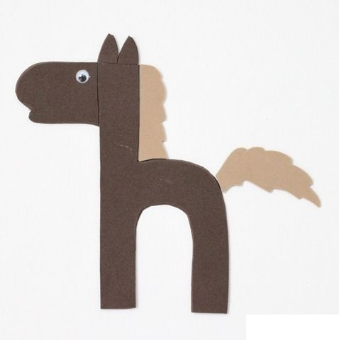 Letter H Crafts on H Horses Letter Printables