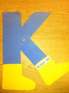 Click For Other Letter Crafts.