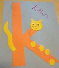 free-alphabet-letter -k-printable-crafts-for-kitten