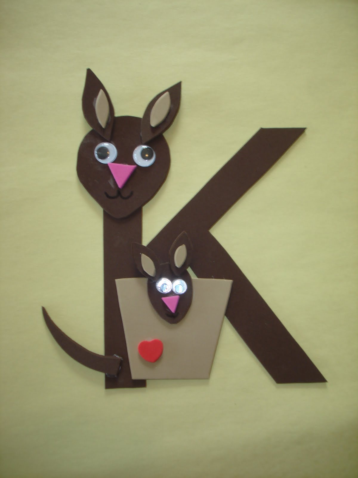 Letter K Crafts - Preschool and Kindergarten