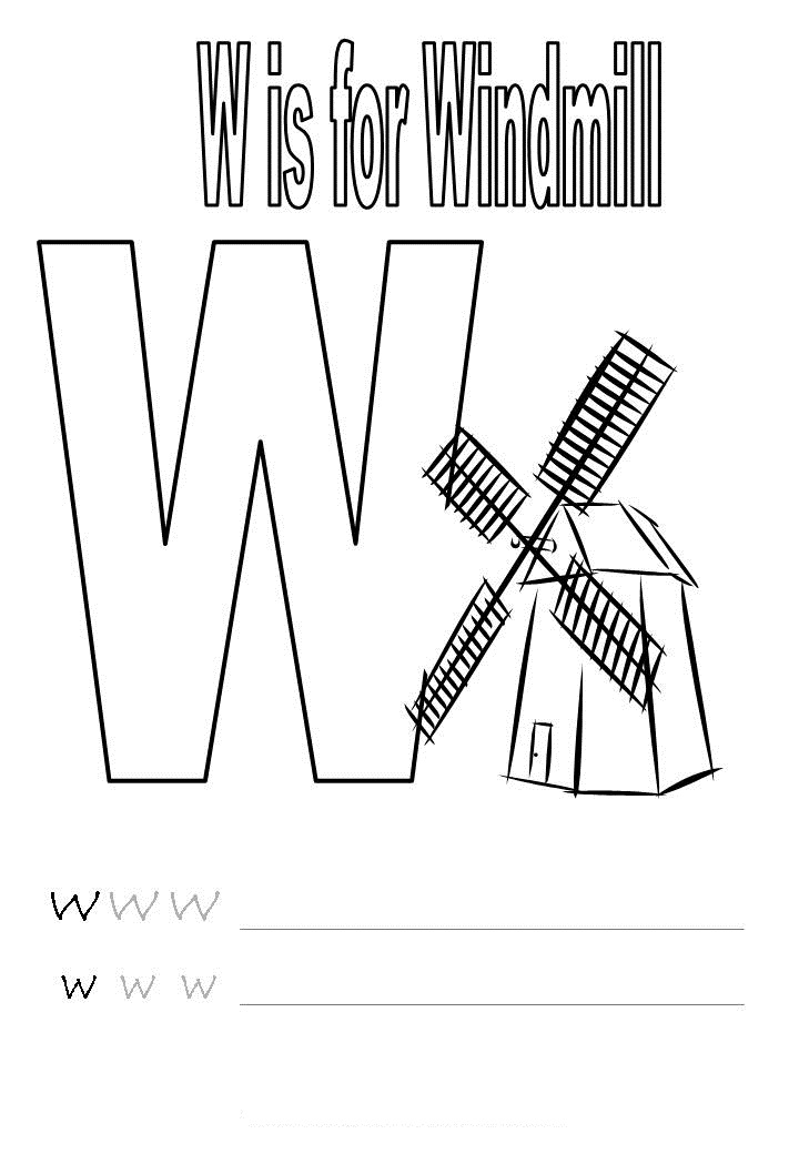math worksheet : letter w worksheets for kindergarten letter w worksheets for  : Free Kindergarten Alphabet Worksheets