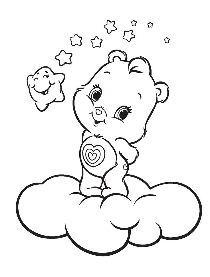 Bear Coloring Pages - Preschool and Kindergarten