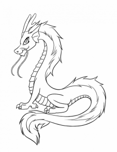free-animals-dragon printable coloring-pages-for-preschool