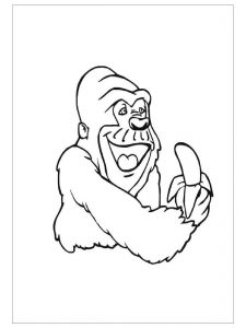 free-animals-gorilla-printable-coloring-pages-for-kidzone