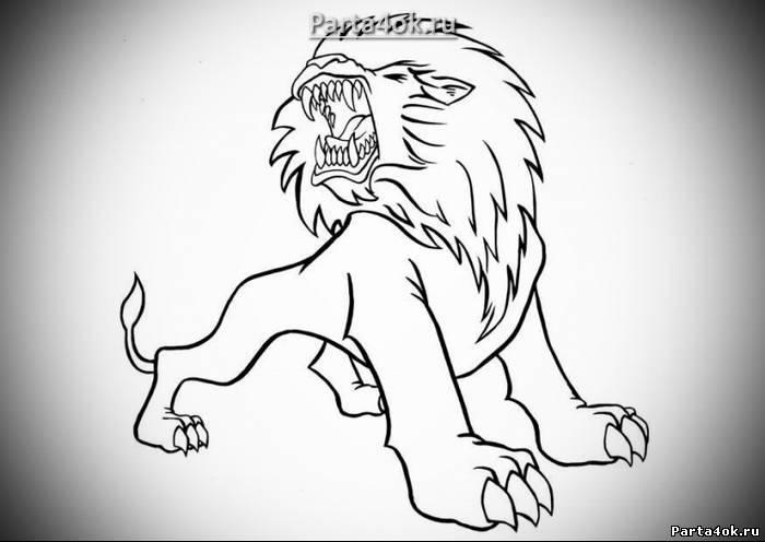 free-animals-lion-printable-homework-for-preschool