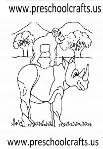 free animals-rhino-printable-coloring-pages-for-preschool