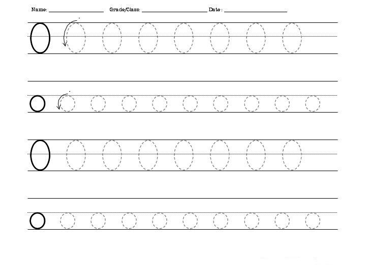 free letter o tracing worksheets preschool crafts. Black Bedroom Furniture Sets. Home Design Ideas