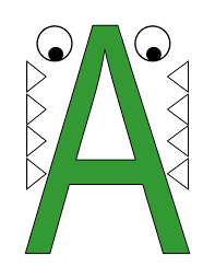 free-letter -a-printable-crafts-for-preschool