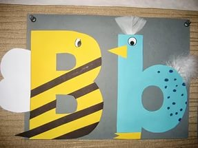 free letter b crafts for preschoolers
