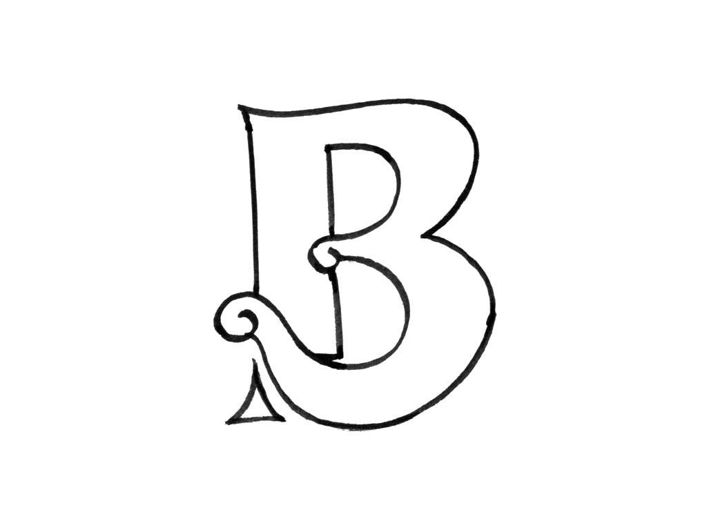 Letter B Coloring Pages Preschool