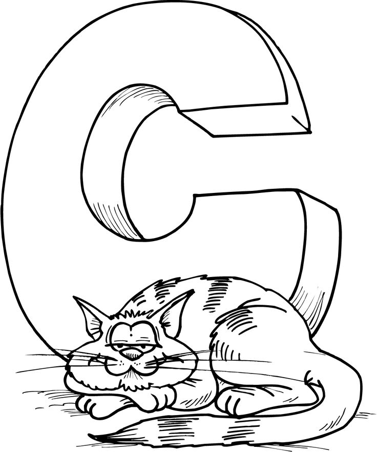 Letter Y Coloring Pages: Letter Y Coloring Pages For Kids