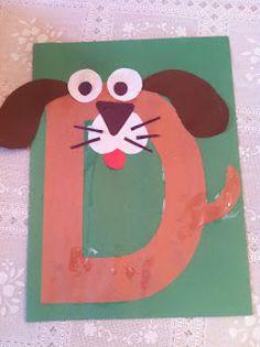free letter d crafts for preschool