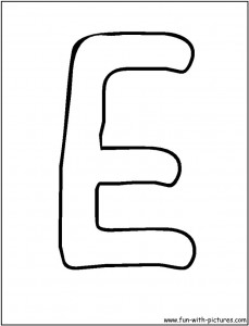 free-letter- e -printable-coloring-pages-for-kid