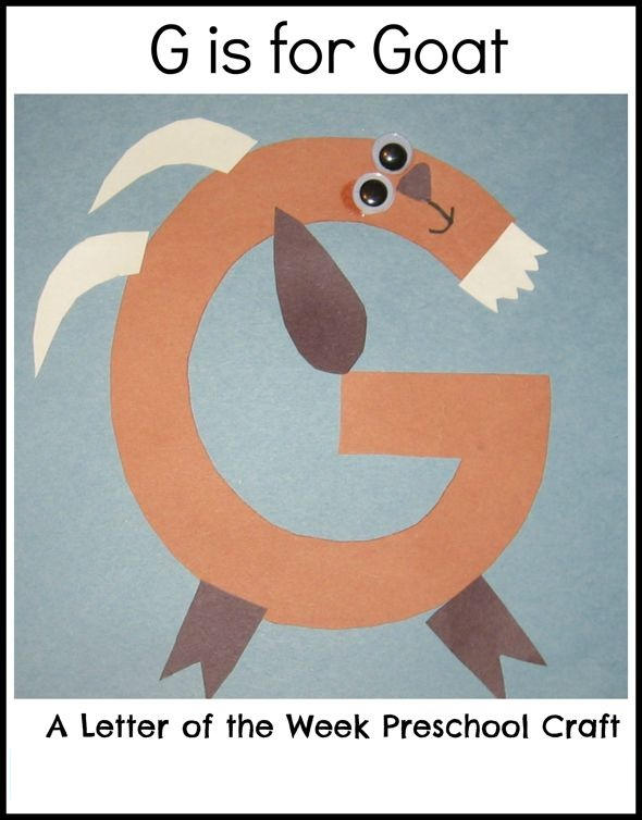 free letter g craft