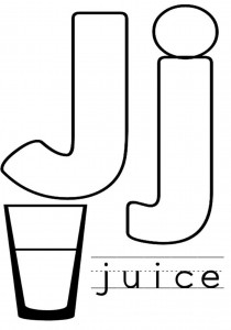 free letter j coloring-pages for preschool