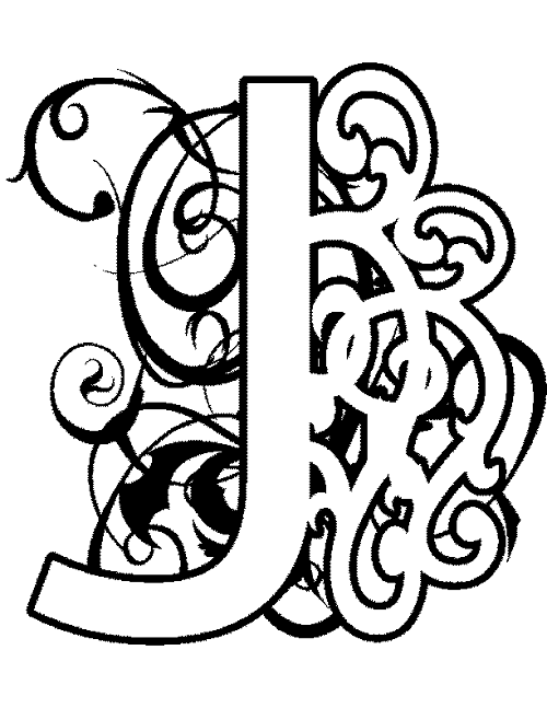 j coloring pages for preschoolers - photo #30