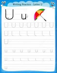 free-letter-lowercase-and-uppercase-u-writing
