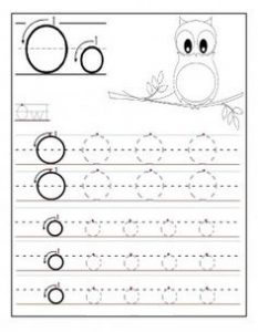 free letter-o-write-worksheets