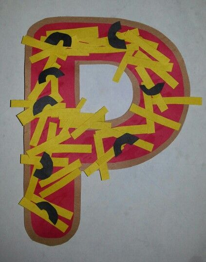 free letter p craft