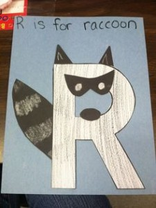 free letter r crafts