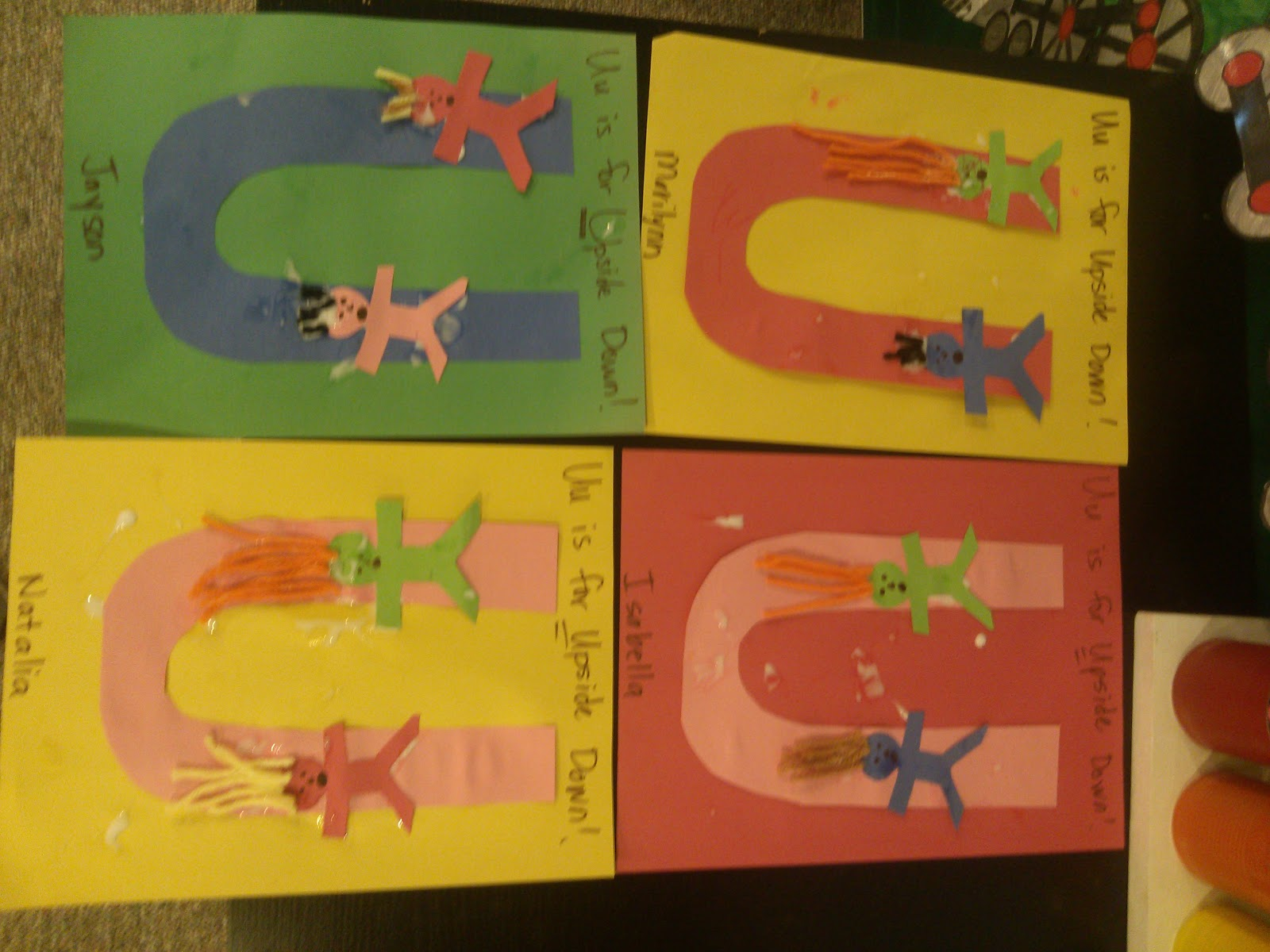 Letter u crafts preschool and kindergarten there are letter u craft ideas and projects for kids if you want teach the alphabet easy and fun to kidsyou can use these activities spiritdancerdesigns Choice Image
