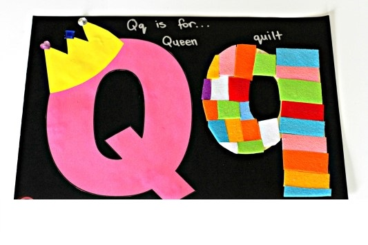 if you want teach the alphabet easy and fun to kidsyou can use these activities you can also find on this page template for the letter q