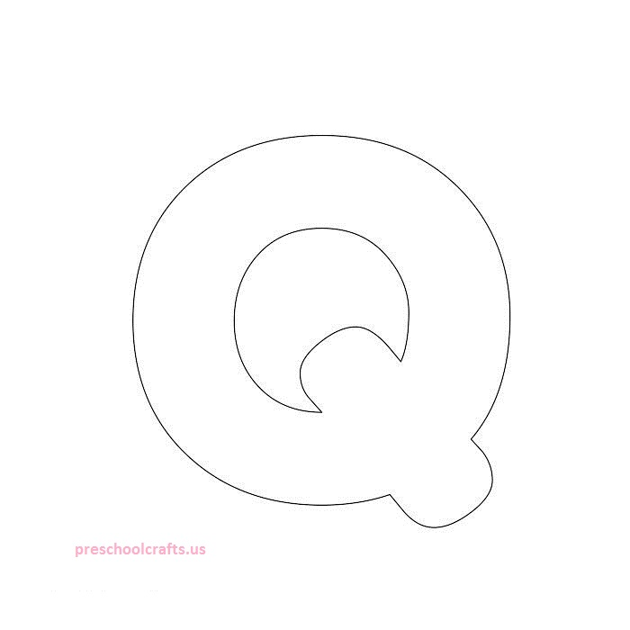 free q template for kids