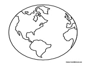free world day earth day printable coloring pages - World Coloring Page