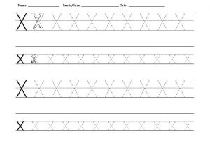 free_letter_X_tracing_worksheets