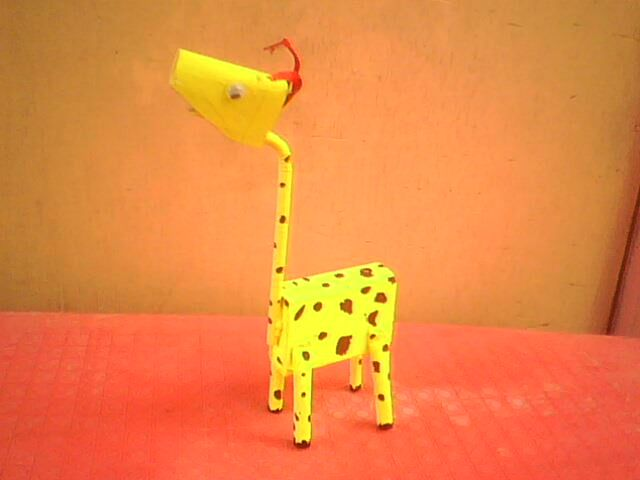 giraffe craft for preschool