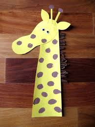 giraffe craft homework