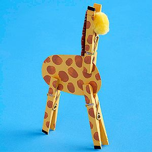 giraffe craft idea