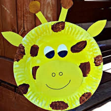 Giraffe Crafts Idea for Preschool