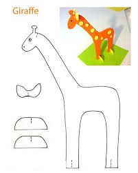 giraffe toy to make for preschool