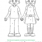 human body colouring pages