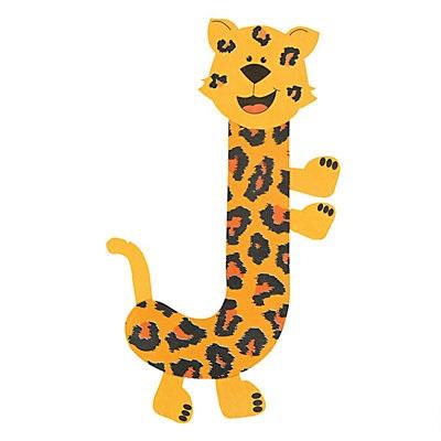 jaguar letter j craft