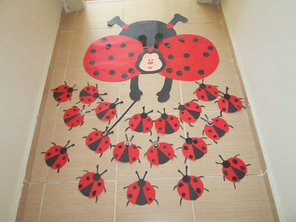 ladybug craft idea for preschool