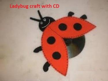 ladybug craft idea for spring