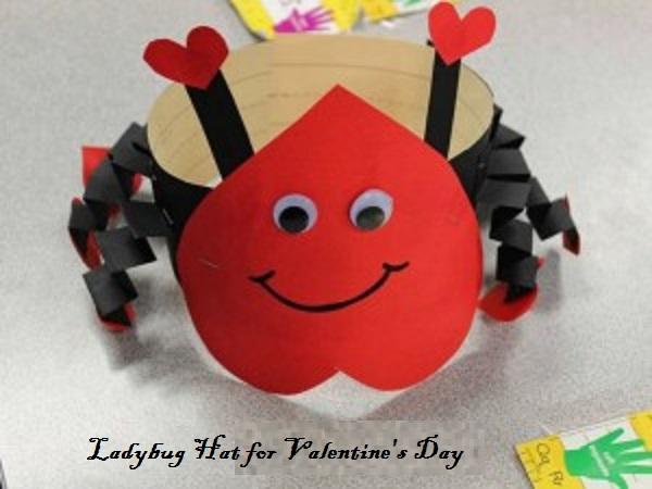 ladybug crafts idea for valentine's day