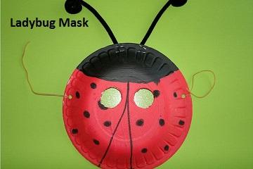 ladybug - mask - kids