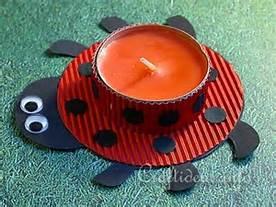 ladybug sipring craft idea for kids