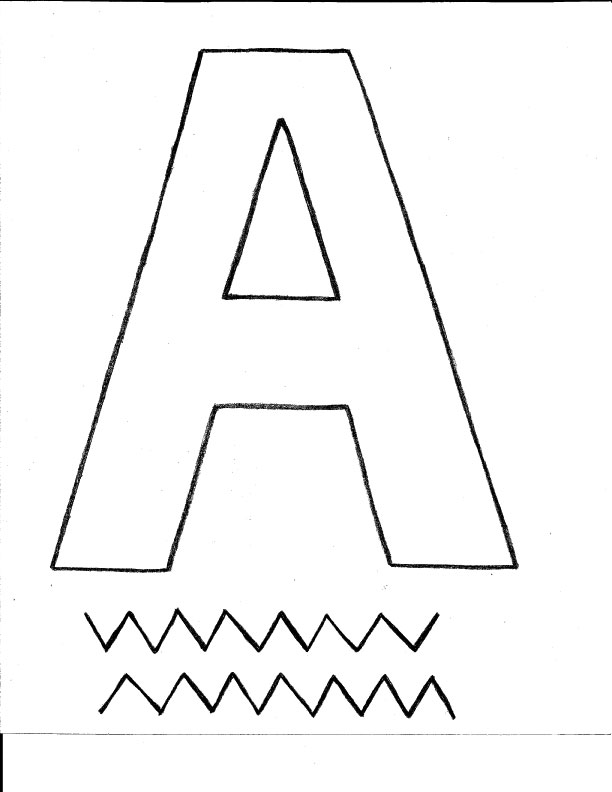 Worksheets Preschool Letter A letter a crafts for preschool click other crafts
